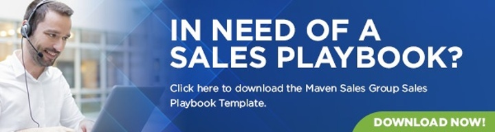 Every business needs a sales playbook