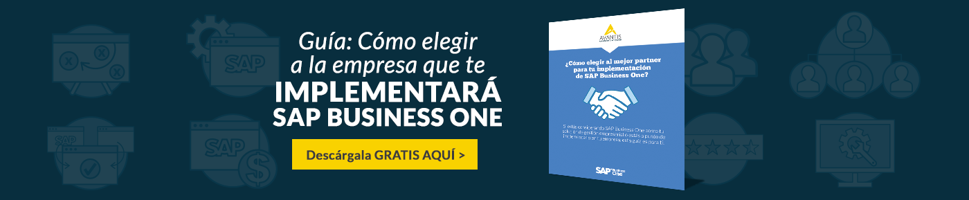 Como elegir al partner que implementara SAP Business One - Avantis
