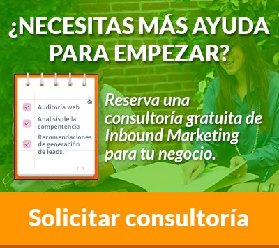 Consultoría de inbound marketing gratuita
