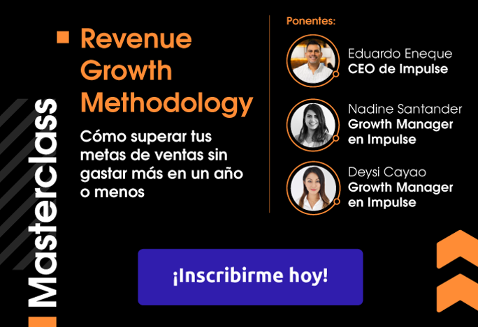 Masterclass: Revenue Growth Methodology