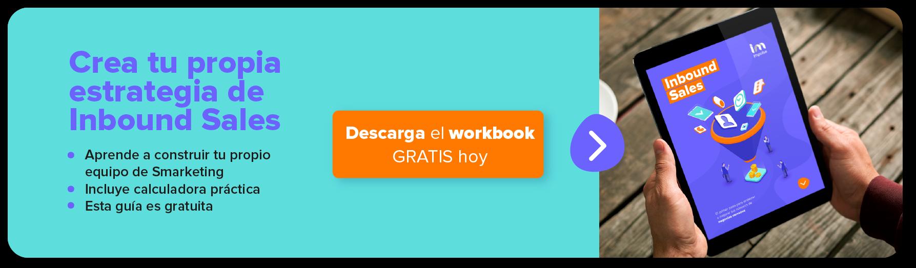 inbound sales descarga workbook ahora