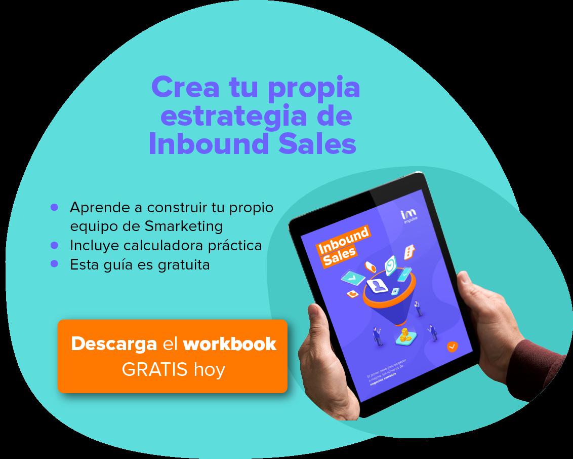 CTA campaña inbound sales 2019 - Entre el texto blog