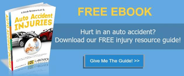 Free EBook For Auto Accident Injury