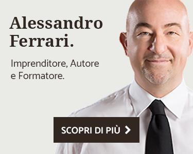 Alessandro Ferrari, Imprenditore, Autore e Formatore
