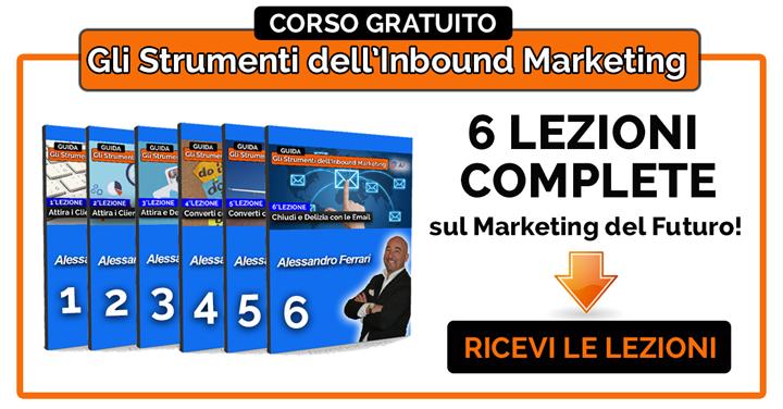Corso Gratuito Gli Strumenti dell'Inbound Marketing