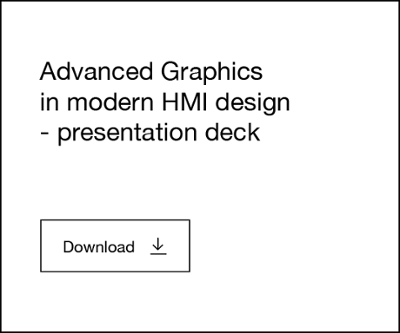 Advanced graphics in modern HMI design