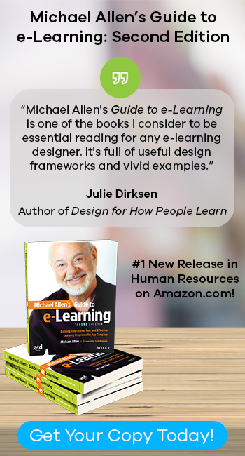 Michael Allen Guide to eLearning: 2nd Edition