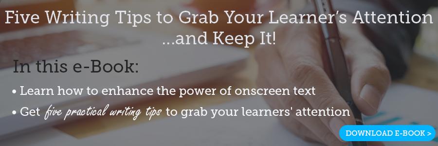 eLearning Writing Tips eBook