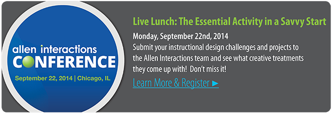 Savvy Lunch | Allen Interactions Conference