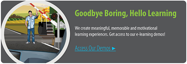 Access Our e-Learning Demos | Allen Interactions | Custom e-Learning Demos | Custom e-Learning Development