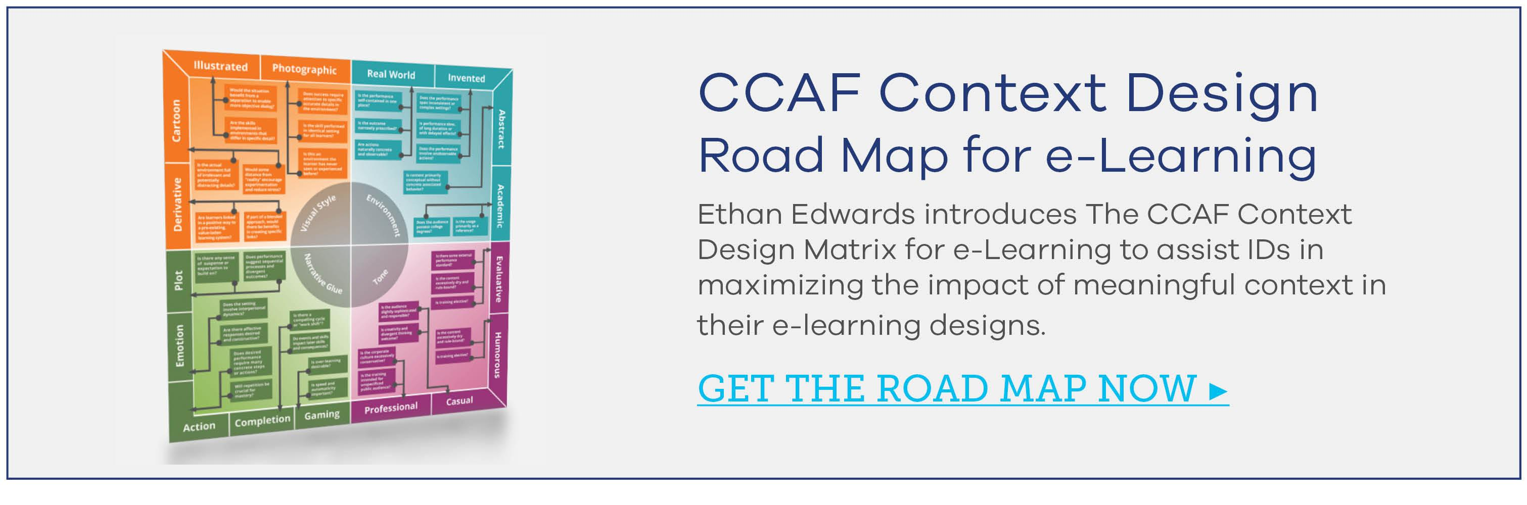CCAF Context Design Road Map