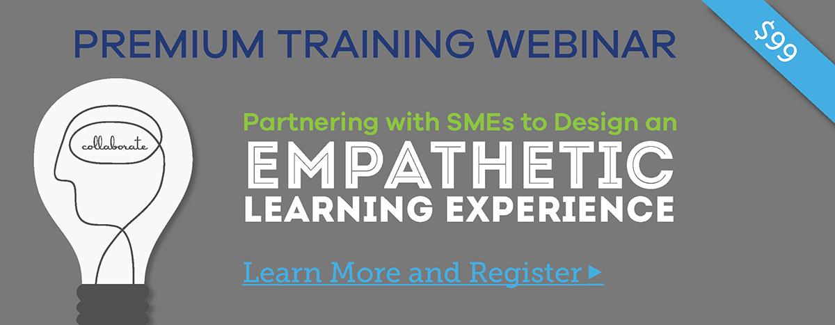Premium Training Webinar