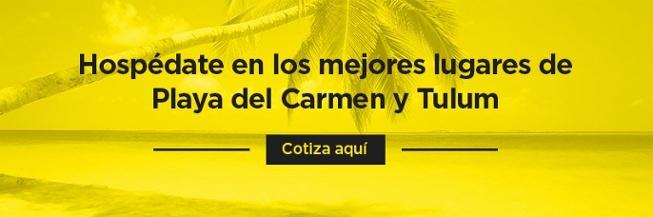 Hospédate en los mejores lugares de Playa del Carmen y Tulum, cotiza aquí
