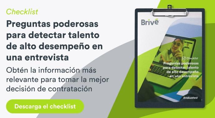 Descarga Checklist Preguntas poderosas para detectar talento de alto desempeño en una entrevista