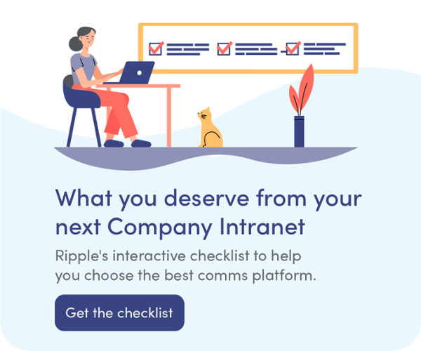 Company intranet checklist