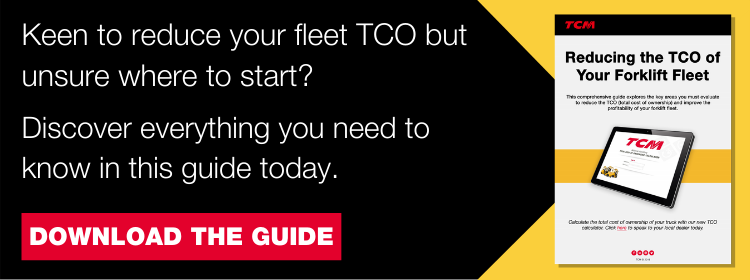 Reduce TCO of Forklift Fleet