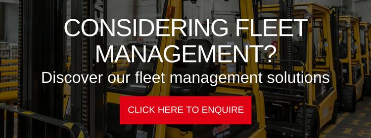 Fleet management solutions