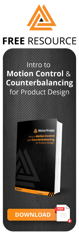 Weber Knapp - Intro to Motion Control and Counterbalancing for Product Design
