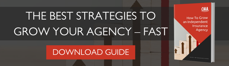 "Download the free ""How to Grow an Independent Insurance Agency"" guide from OAA."