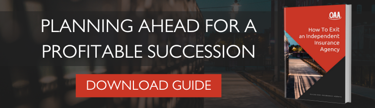 """Download the free """"How to Exit an Independent Insurance Agency"""" guide from OAA."""