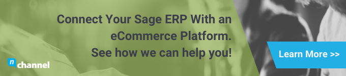 how to integrate sage erp with an ecommerce platform