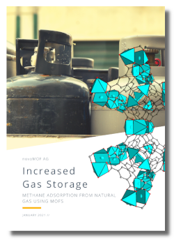 Cover Case Study Gas Storage with MOFs