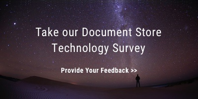 Take our Document Store Technology Survey
