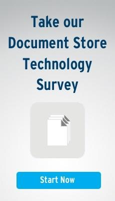 Click here to take our Document Store Technology Survey