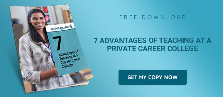 7-Advantages-of-Teaching-at-a-Private-Career-College