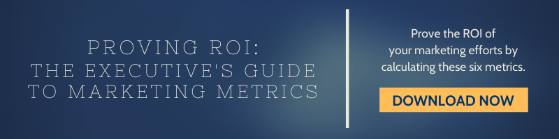 The Executive's Guide To Maketing Metrics