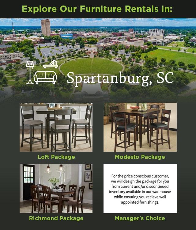 Explore Our Furniture Rentals in Spartanburg, SC