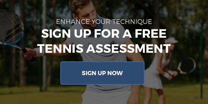 Sign up for a free tennis assessment at Cherry Hill