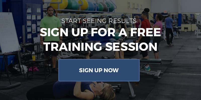 Sign up for a Free Personal training session at Cherry Hill