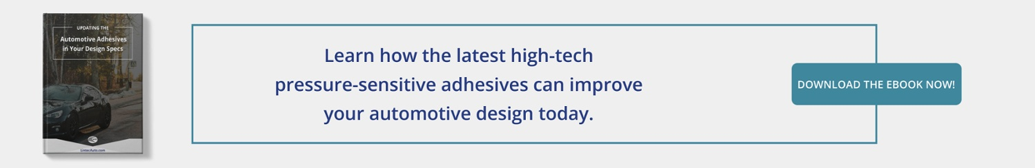 Updating the Automotive Adhesives in Your Design Specs