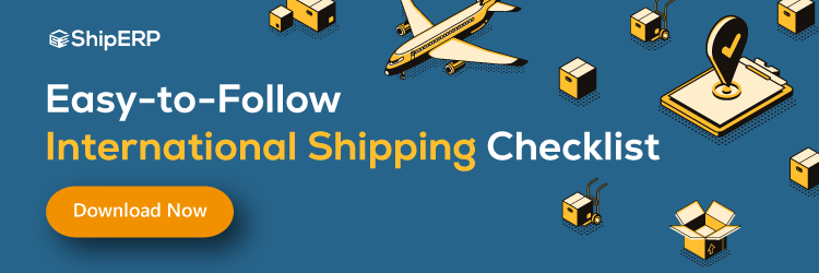 International Shipping checklist download