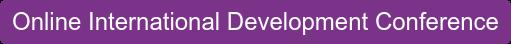 Online International Development Conference