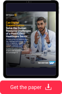 Download the whitepaper 'Tackling the human resource challenges in a post-COVID Healthcare sector'.