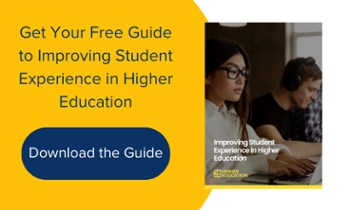 Download your free guide to improving student experience in higher education