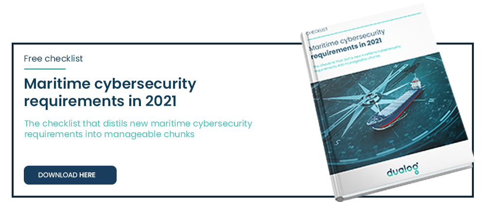 Maritime cybersecurity requirements