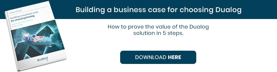 Building a business case for choosing Dualog