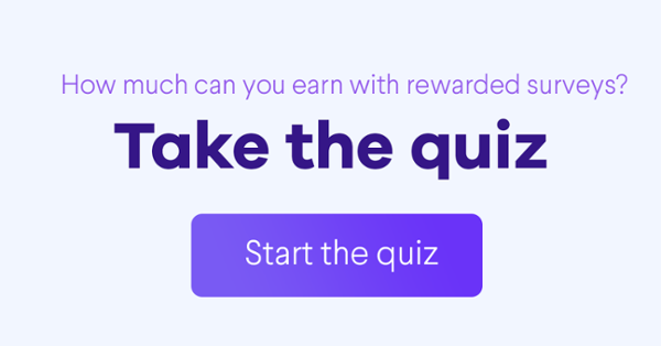 How much can you earn with rewarded surveys? Take the quiz