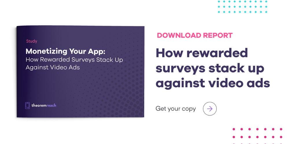 How rewarded surveys stack up against video ads