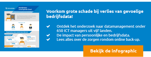 Download nu de gratis infographic 'Back-up van bedrijfsdata in de Hybride Cloud'