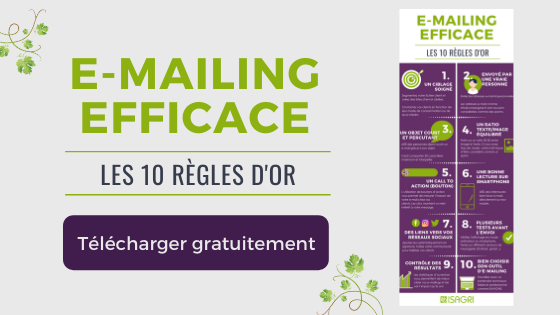 Téléchargez les 10 règles d'or pour un e-mailing efficace