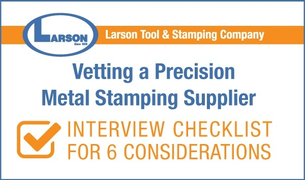 Download Stamping Supplier Interview Checklist