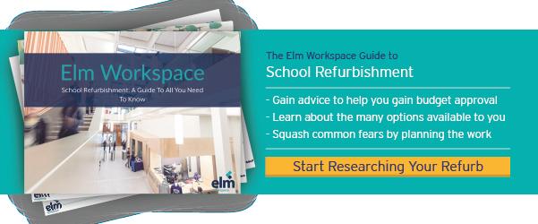 Image CTA of school refurbishment guide