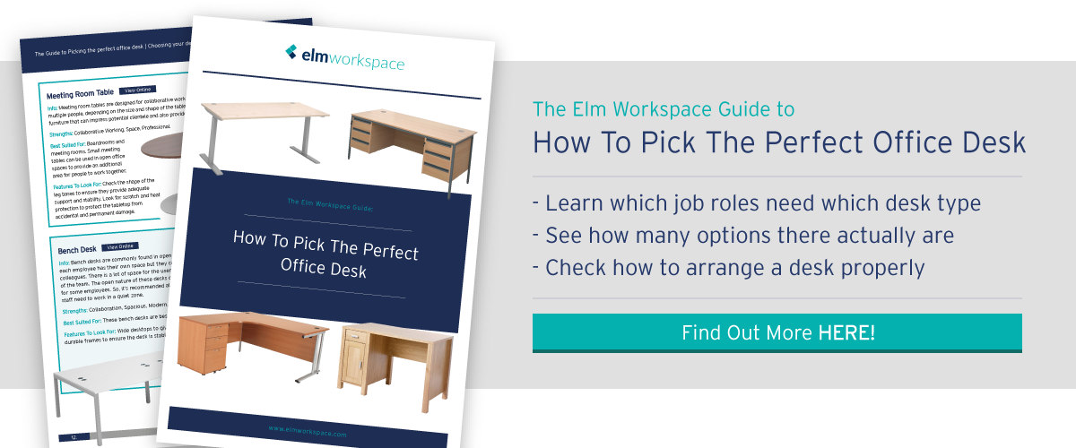 How to pick the perfect office desk CTA