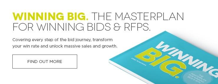 Winning Big. The Masterplan for Winning Bids & RFPs