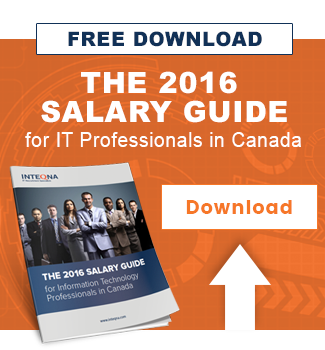 The 2016 Salary Guide for Information Technology Professionals in Canada