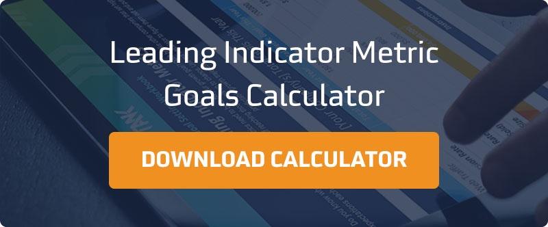 Leading Indicator Metric Goals Calculator